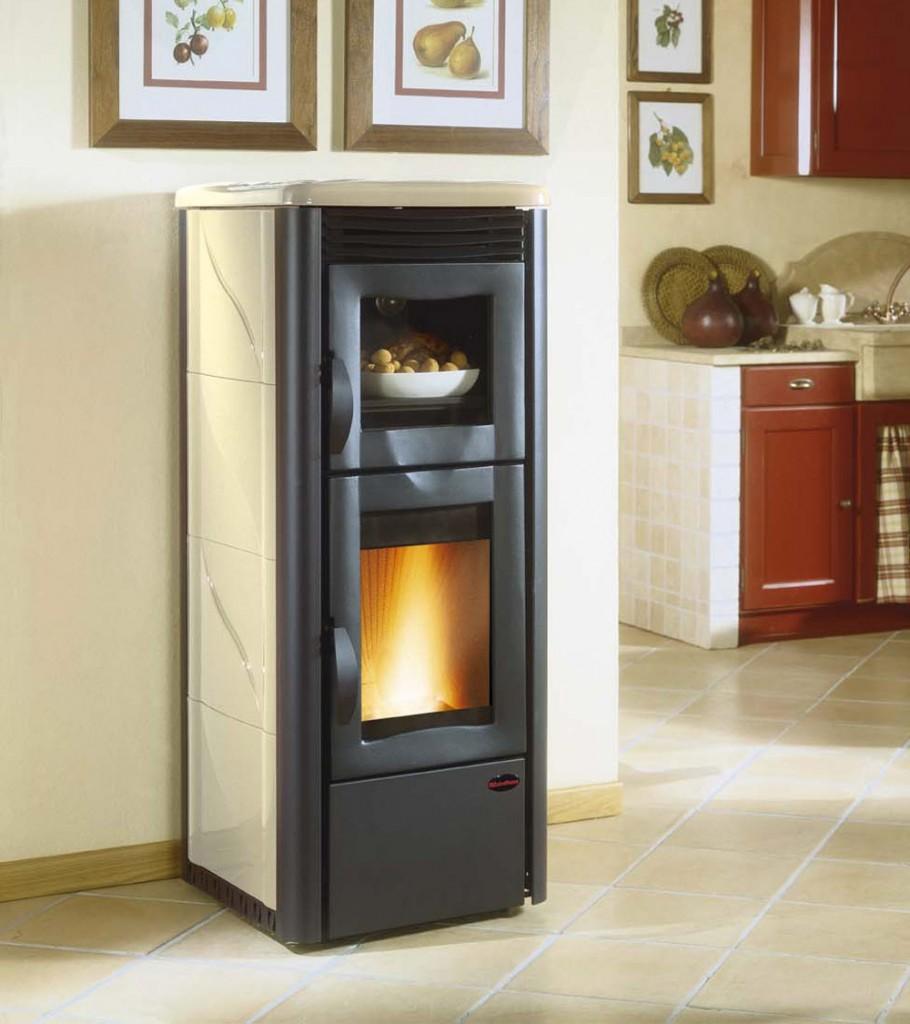 Stufe a pellet extraflame farolfi casa - Stufe pellet con forno ...