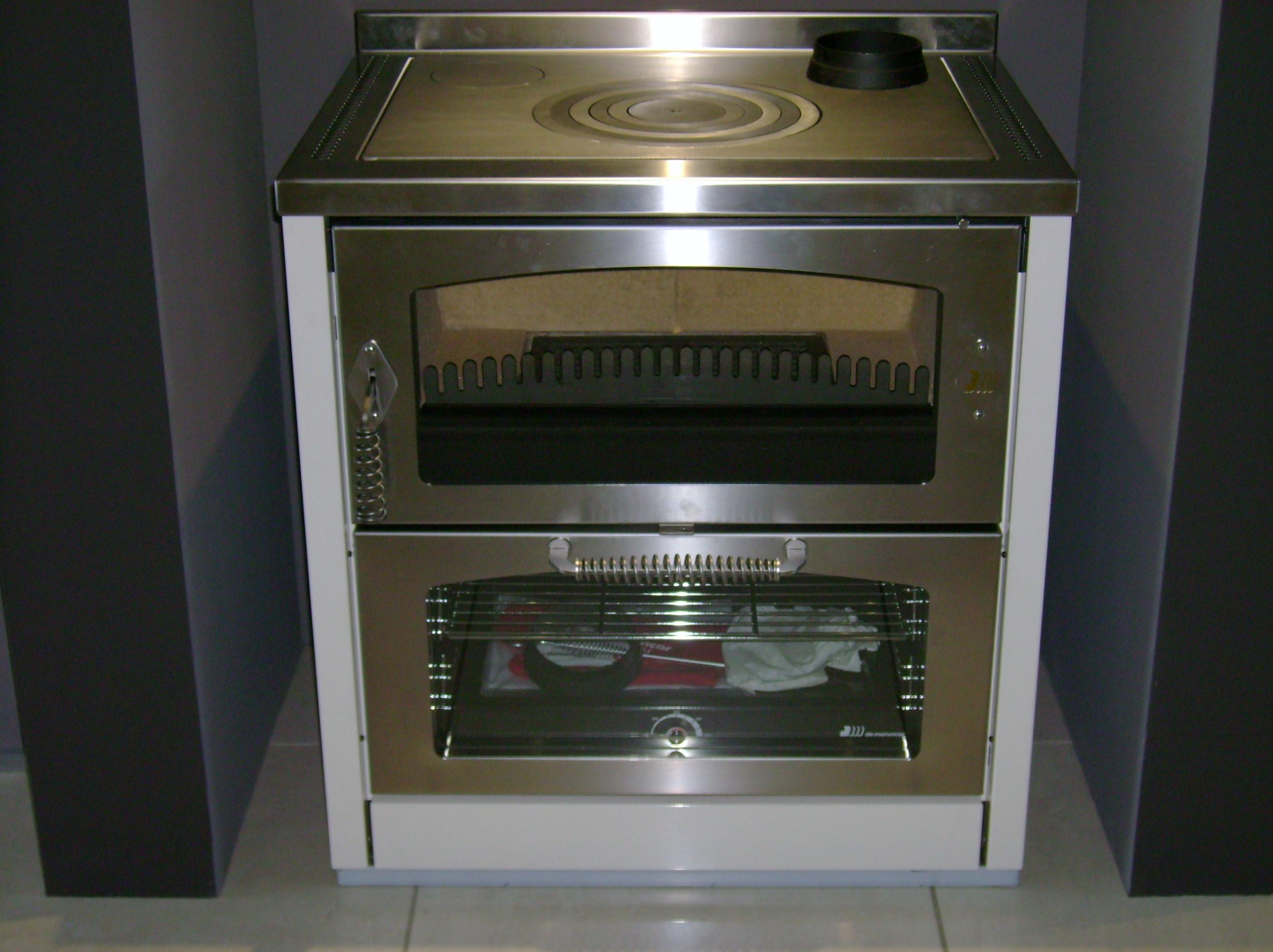 Cucina a legna De Manincor Domino 8 Maxi prezzo ...