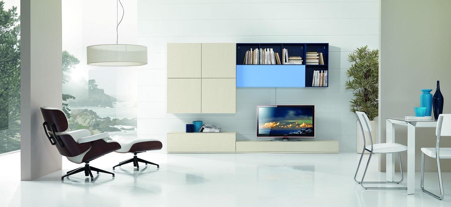 Soggiorni farolfi casa forl librerie moderni for Soggiorni componibili moderni
