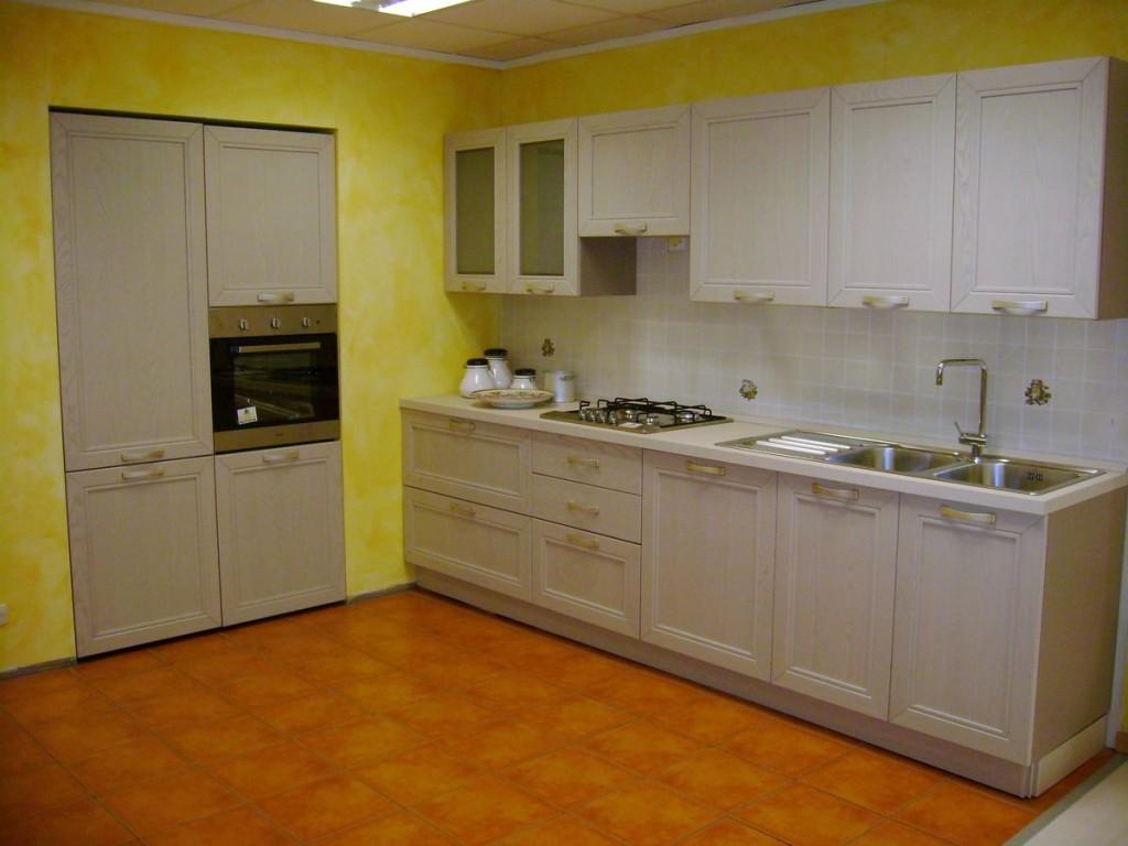 Cucina arredamento prezzi le cucine in finta muratura abbinata ad ante e cassetti scorrevoli - Cucine lago opinioni ...