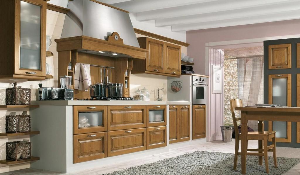 Cucina con lavabo sotto la finestra archivio immagini for Arredamento cucina in muratura