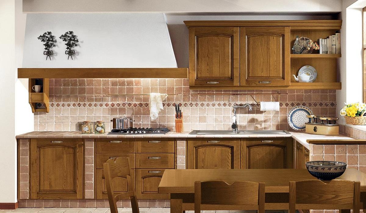Cucina in muratura emma arredo 3 farolfi casa - Cucina country in muratura ...