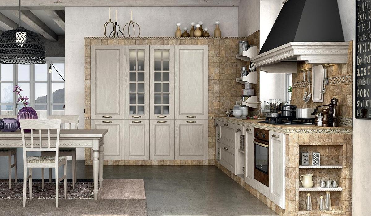 Cucina in muratura virginia arredo 3 farolfi casa - Cucine finte muratura ...