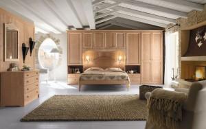 Camera da letto in stile country | Farolfi Casa