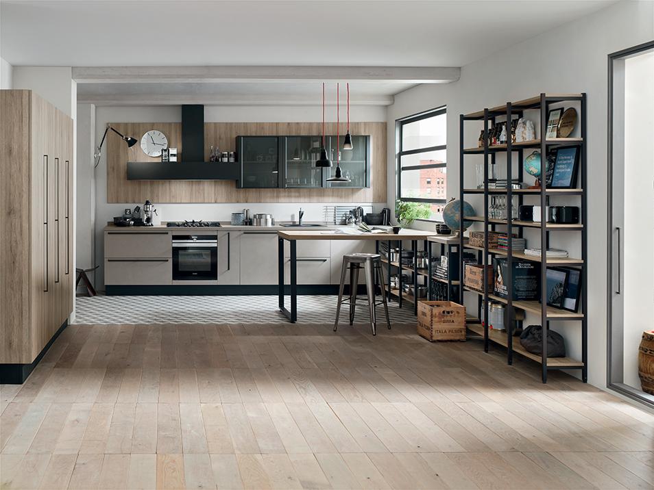 Farolfi casa arredamenti mobili stufe a legna stufe - Isola cucina dimensioni minime ...