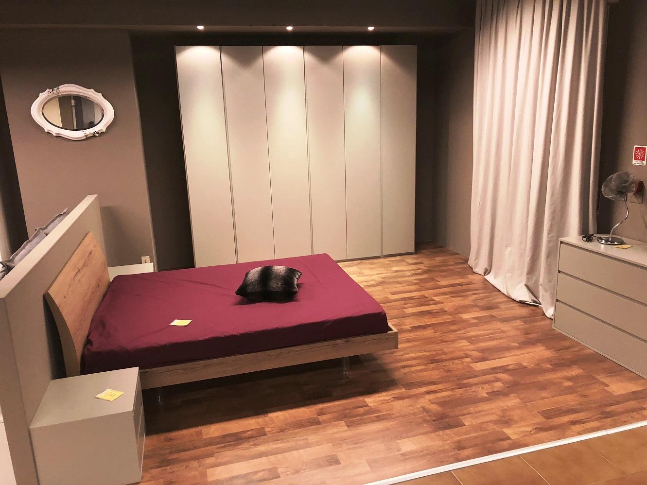Camera da letto completa armadio apertura con gola ...